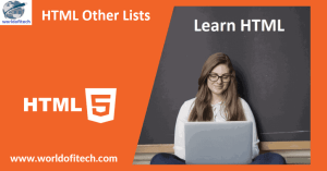 HTML Other Lists