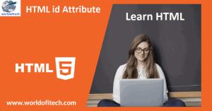 HTML id Attribute