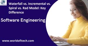 Waterfall vs. Incremental vs. Spiral vs. Rad Model