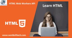 HTML Web Workers API