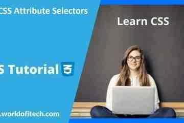 CSS Attribute Selectors