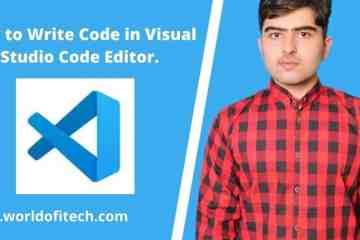 How to Write Code in Visual Studio Code