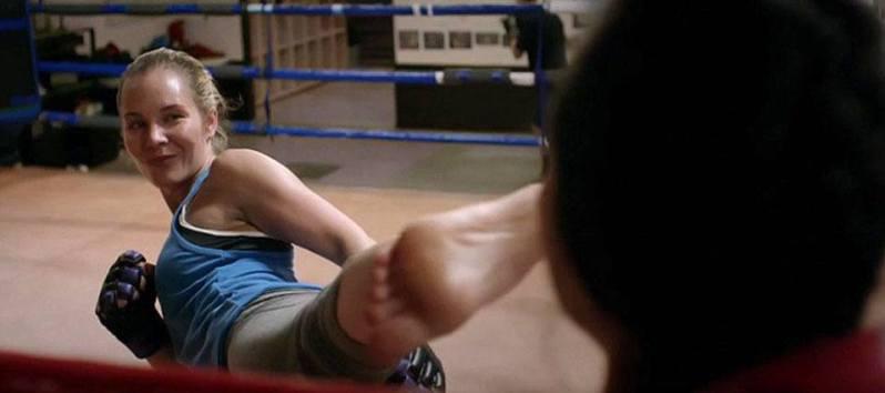 Amy Johnston Kicking