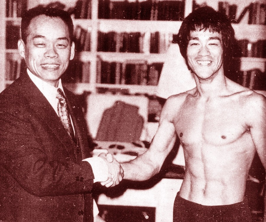 Jhoon Rhee and Bruce Lee