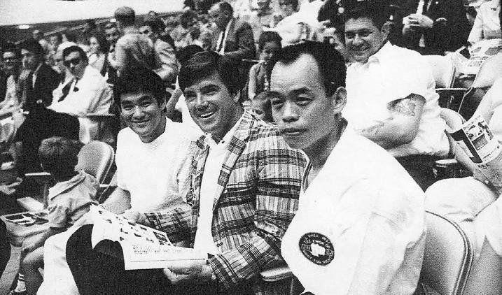 Jhoon Rhee, Van Williams & Bruce Lee