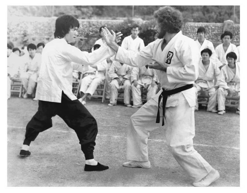 Bruce Lee vs Bob Wall