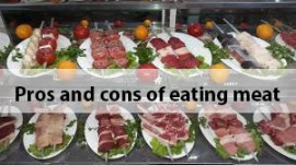 Pros and cons of eating meat
