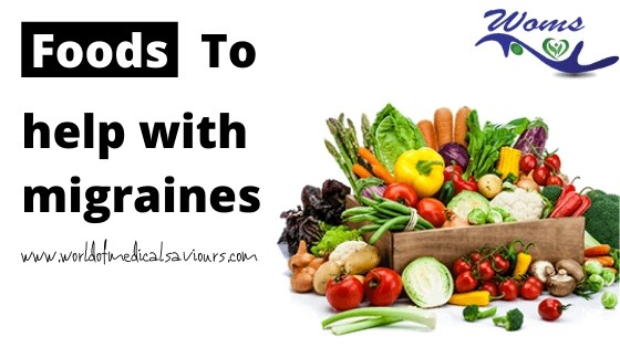 foods to help with migraines