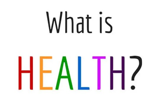 What is health? | Health and Glow
