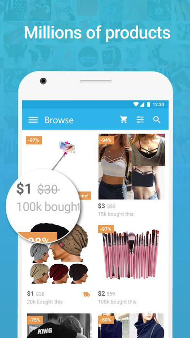 Wish Shopping Made Fun World Of Mobile Apps