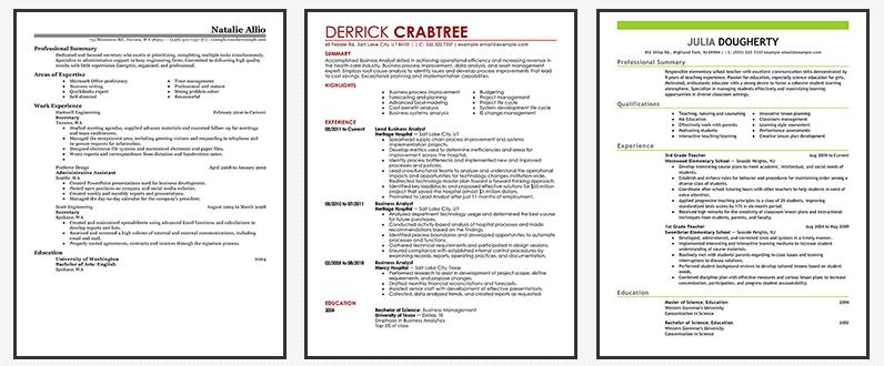 livecareer-online-resume-generator-examples