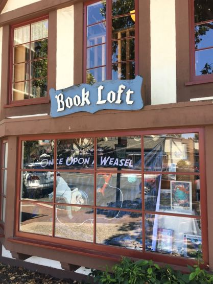 Book Loft - Once Upon a Weasel signing