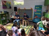 WILD WILD WEASEL reading at Kidspace