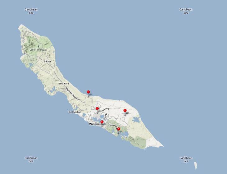 Curacaomap