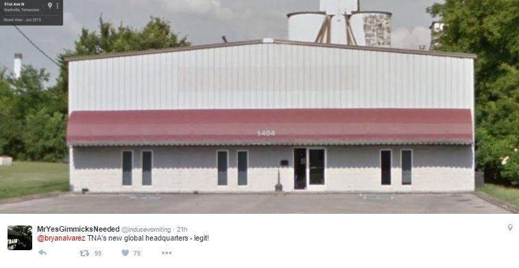 TNA ShopTNA warehouse, TNA's new base of operation