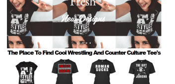 http://heelshirts.com The Place To Find Cool Wrestling And Counter Culture Tee's