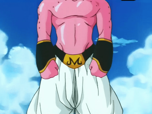 dragon ball super 85 - Buu has been training! is this what the new slimmed down majin buu will look like?! New Buu dbz - this is a mockup and not actually from super - image by stevie