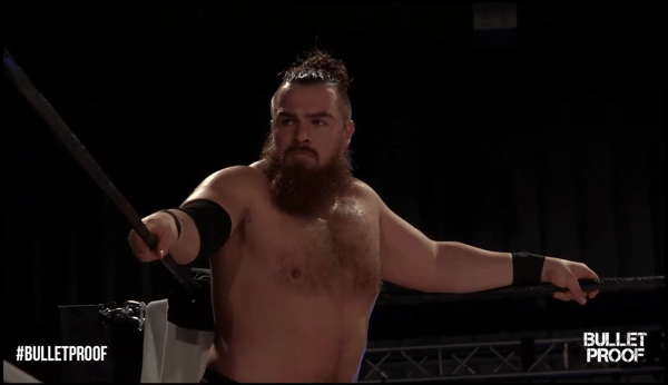 WCPW bulletproof - joe coffey preparing to start one of the choppiest matches i have ever seen
