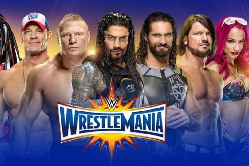 wrestlemania 33 - the ultimate thrill ride - poster - wrestlemania 33 predictions