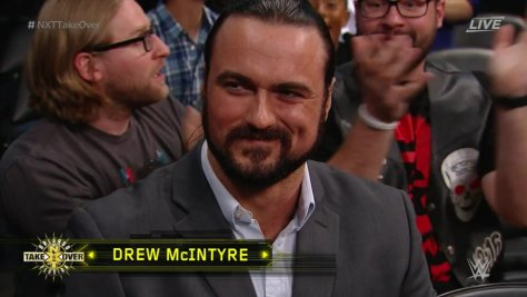 drew mcIntyre Drew galloway on camera at nxt takeover orlando 2017 wrestlemania