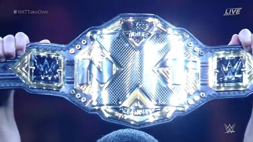 the new wwe nxt womand championship title belt 2017