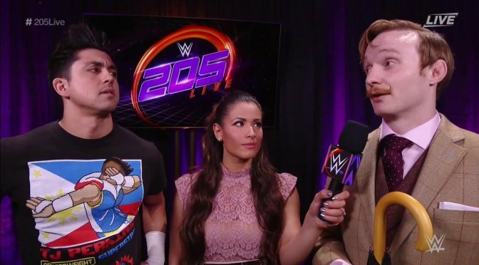 WWE 300 – 205 Live Review – 12th April 2017 [Perkins Vs Gentleman Jack]