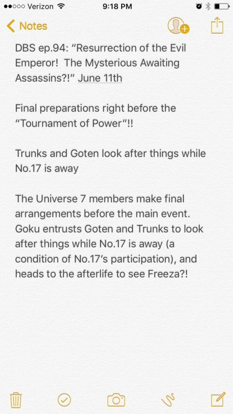 dragon ball super ep 94 preview SPOILERS resurection of the evil emperor the mysterious awating assassins 1 herms98