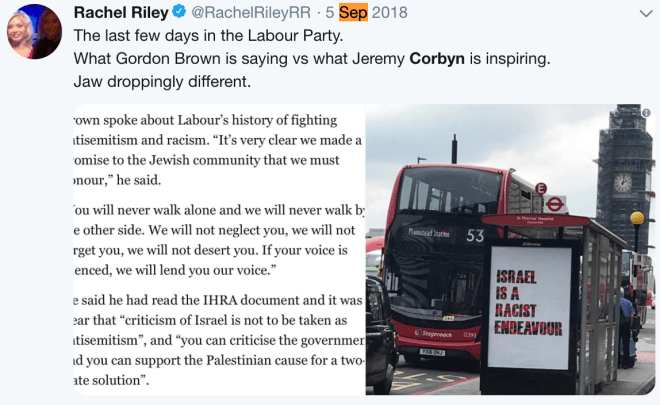 Racheal tests the water with first real open criticism of corbyn