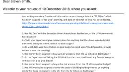 DExEU FOI Questions DEX001605