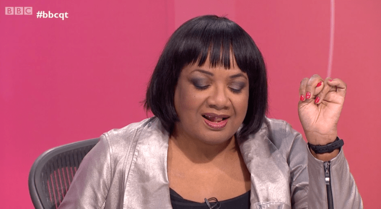 BBC Question Time 17/01/2919 - An exacerbated Dianne Abbott