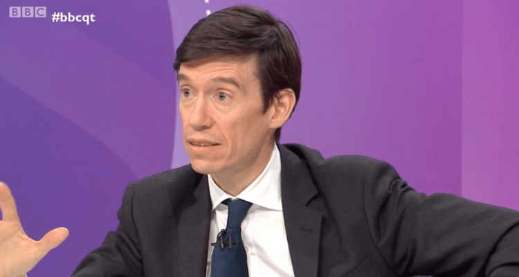 BBC Question Time 17/01/2919 - Rory Stewart MP