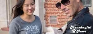 Meaningful Paws vegan shirt