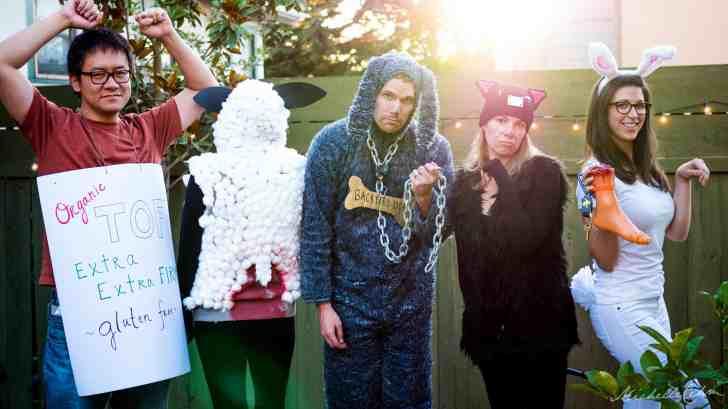 vegan animal rights halloween costume ideas