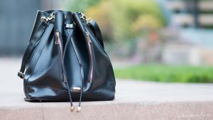 Gunas vegan purse