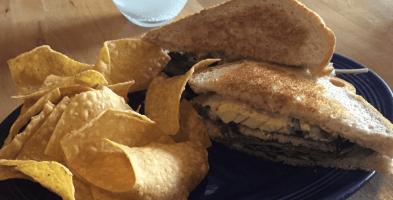 Vegan Restaurant Sandwich