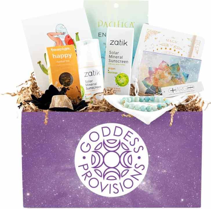 Vegan Subscription Box Goddess Provisions