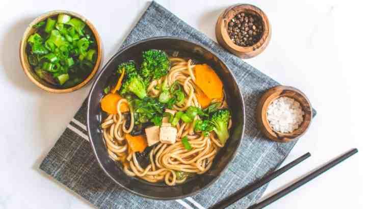 Ten-Minute Miso Noodle Soup