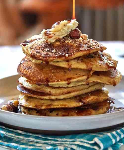 vegan pancakes recipe