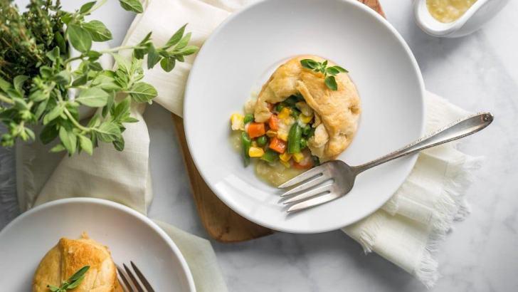 Mini Vegan Pot Pie Recipe