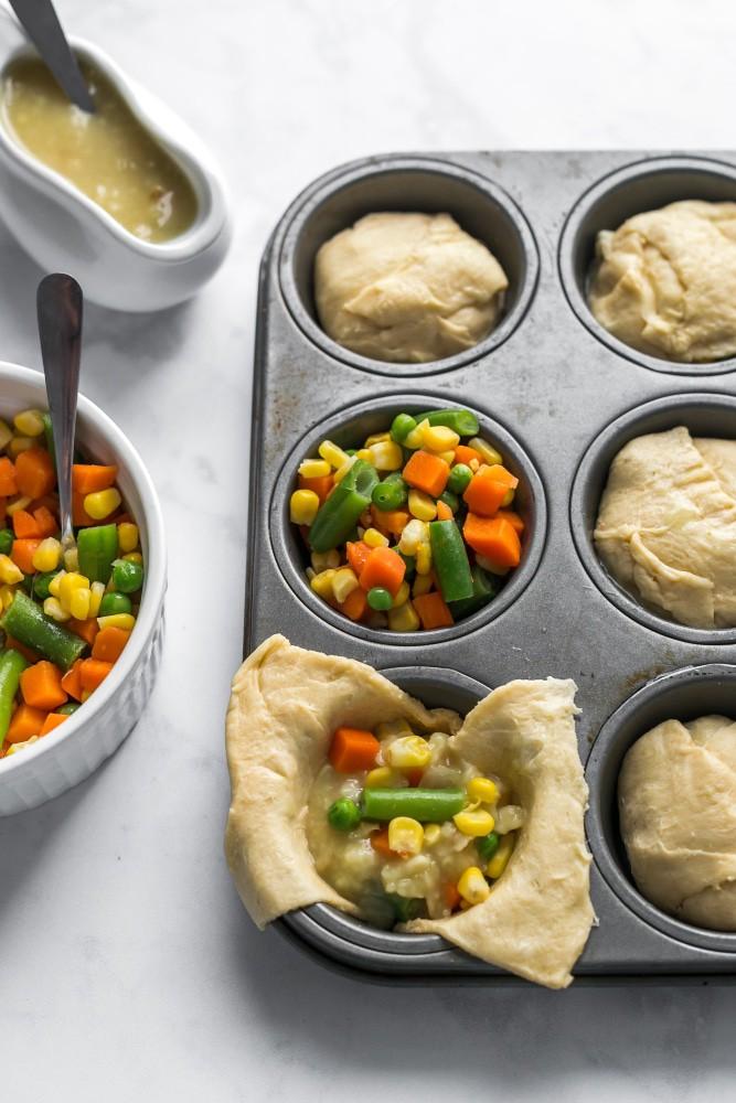 Vegan Mini Pot Pies