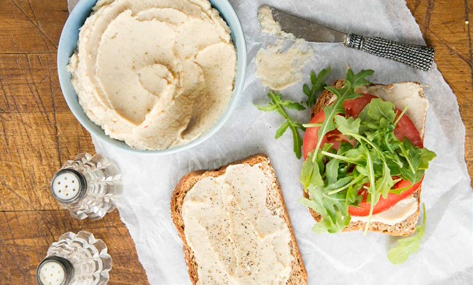 Artichoke & White Bean Spread Recipe from The Book of Veganish