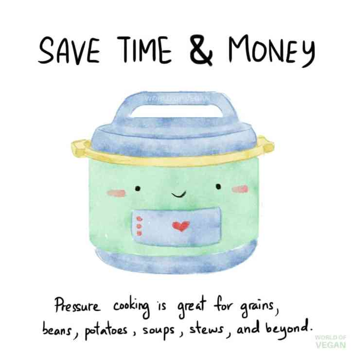 Instant Pot Art Save Time and MoneyWorld of Vegan