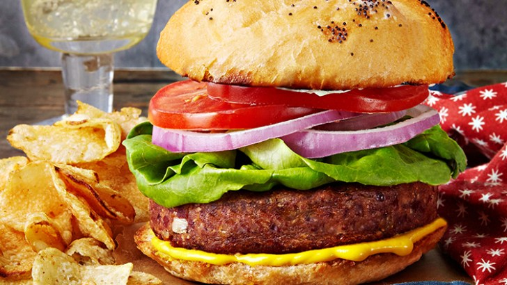 Quick & Easy Red Bean Burgers
