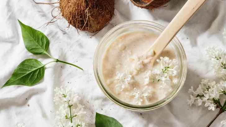 Vegan Coconut Raisin Rum Tapioca Pudding