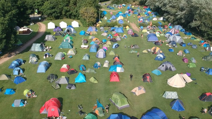 The World's Largest Vegan Camp Out Festival