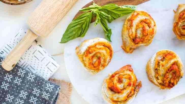 Vegan Pizza Roll-Ups