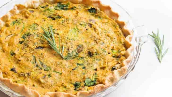 Vegan Quiche Recipe