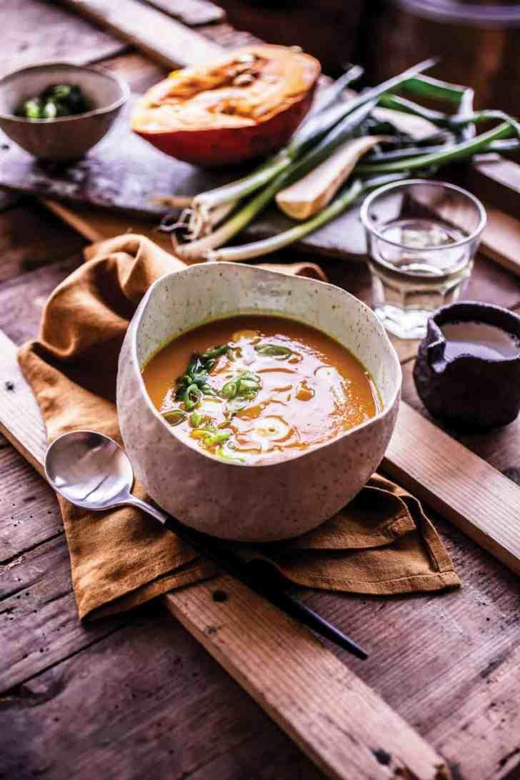 Sweet Winter Squash Bisque Recipe | World of Vegan | #vegan #soup #winter #cozy #holiday #recipe