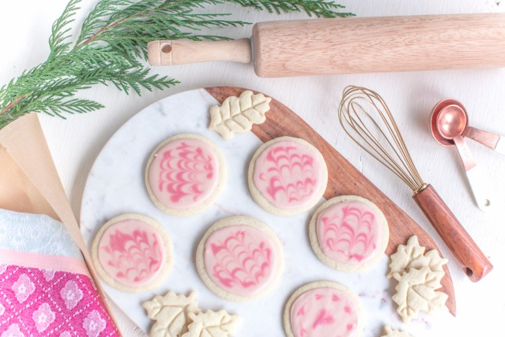 Frosted Vegan Sugar Cookies | Easy Holiday Recipe | WorldofVegan.com | #vegan #cookies #recipe #holiday