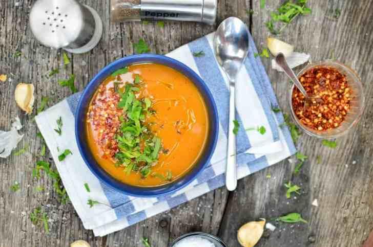 One-Pot Sweet Potato Soup | Easy Vegan Dinner Recipe | World of Vegan | #sweetpotato #soup #healthy #easy #onepot #worldofvegan